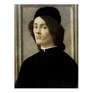 Portrait of a Man Postcard