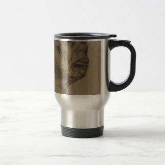 Portrait of a Man Travel Mug