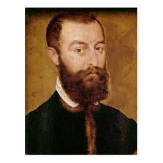 Portrait of a Man with a Beard Postcard