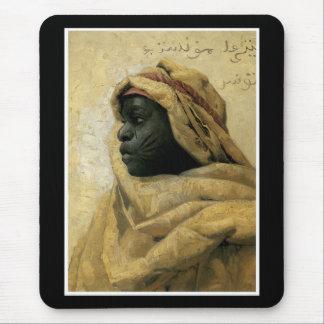 Portrait of a Nubian Mouse Pad