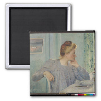 Portrait of a Woman, 1900 Fridge Magnet