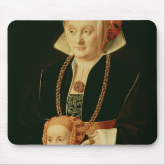 Portrait of a Woman with her Daughter Mouse Pad