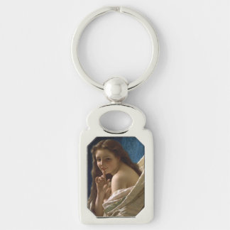 Portrait of a Young Woman by Pierre Auguste Cot Key Chain