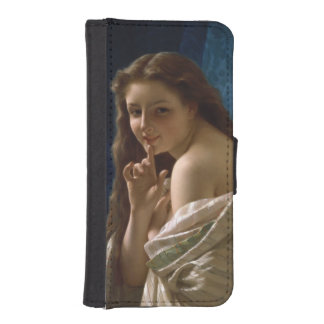 Portrait of a Young Woman by Pierre Auguste Cot iPhone 5 Wallet Case