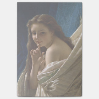 Portrait of a Young Woman by Pierre Auguste Cot Post-it® Notes