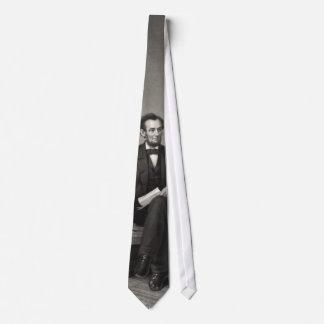 """Portrait of Abraham Lincoln"" tie"