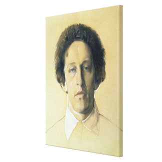 Portrait of Aleksandr Aleksandrovich Blok , 1907 Canvas Print
