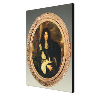 Portrait of an Unknown Man Canvas Print