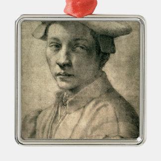 Portrait of Andrea Quaratesi, c.1532 Christmas Ornament
