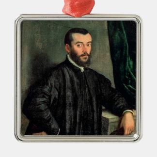 Portrait of Andrea Vesalius Christmas Ornament