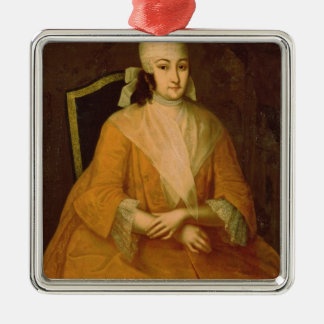 Portrait of Anna Leopoldovna Christmas Ornament