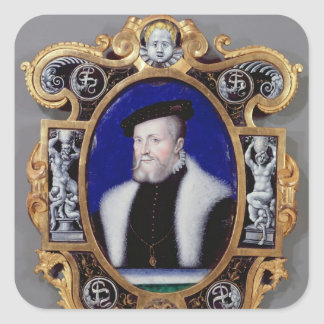 Portrait of Anne, First Duke of Montmorency Square Sticker