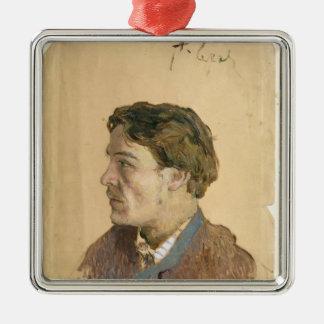Portrait of Anton Chekhov Christmas Ornament