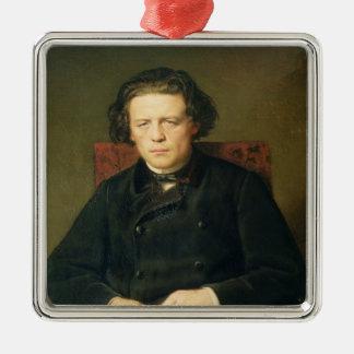 Portrait of Anton Rubinstein  1870 Christmas Ornament
