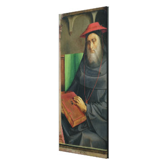 Portrait of Cardinal Bessarion  c.1475 Canvas Print