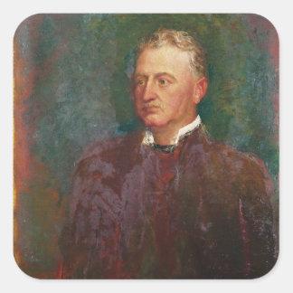 Portrait of Cecil John Rhodes  1898 Square Sticker