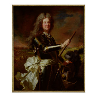 Portrait of Charles-Auguste de Matignon Poster