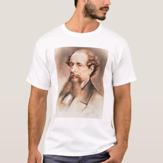 Portrait of Charles Dickens, 1869 T-Shirt