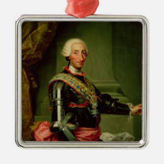 Portrait of Charles III  c.1761 Christmas Ornament