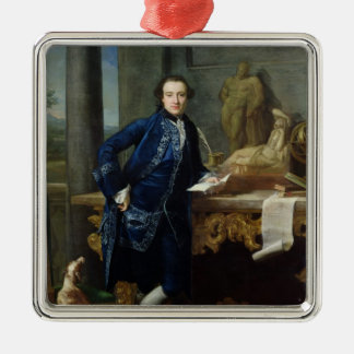 Portrait of Charles John Crowle  of Crowle Christmas Ornament