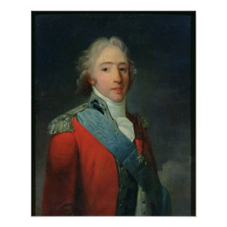 Portrait of Charles of France , Count of Poster