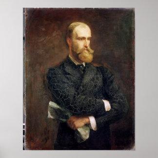 Portrait of Charles Stewart Parnell  1892 Poster