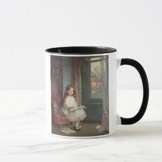 Portrait of Clara Hughes, 1902 (oil on canvas) Mug