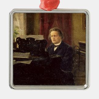 Portrait of Composer Anton Rubinstein Christmas Ornament