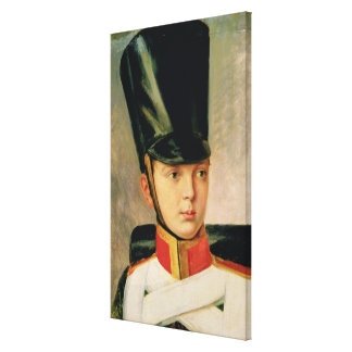 Portrait of Crown Prince Alexander Canvas Print