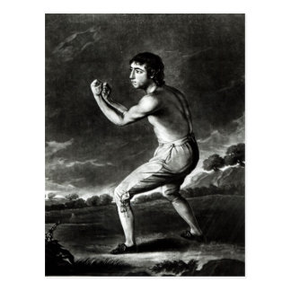 Portrait of Daniel Mendoza Postcard