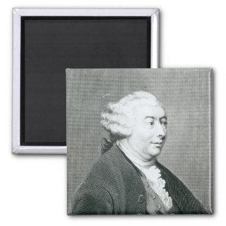 Portrait of David Hume Magnet