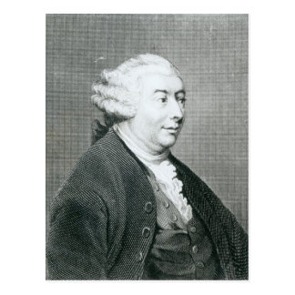 Portrait of David Hume Postcard