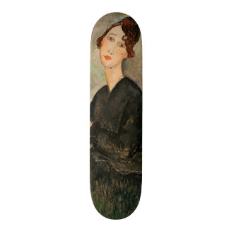 Portrait of Dedie Hayden, 1918 20.6 Cm Skateboard Deck