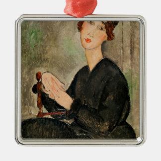 Portrait of Dedie Hayden, 1918 Christmas Ornament