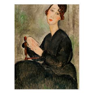 Portrait of Dedie Hayden, 1918 Postcard