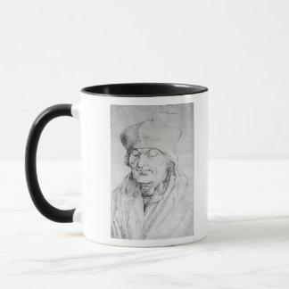 Portrait of Desiderius Erasmus  1520 Mug