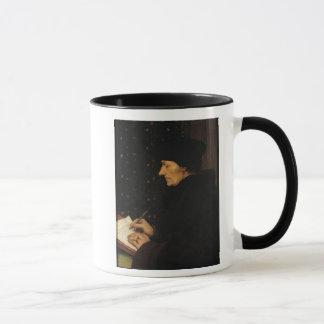 Portrait of Desiderius Erasmus Mug