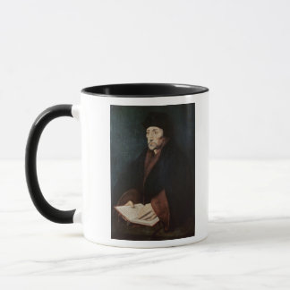 Portrait of Desiderius Erasmus  of Rotterdam Mug