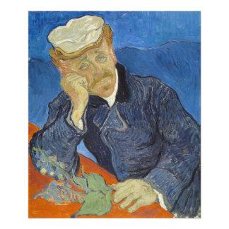 Portrait of Dr Gachet by Vincent Van Gogh Art Photo