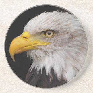 Portrait of eagle coaster