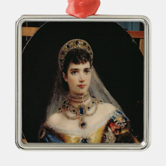 Portrait of Empress Maria Fyodorovna Christmas Ornament