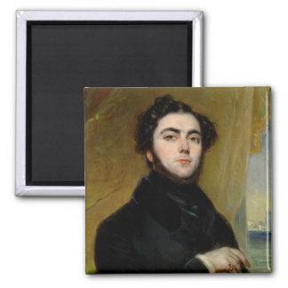 Portrait of Eugene Sue  1837 Magnet