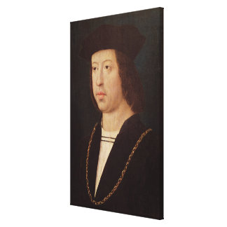 Portrait of Ferdinand II  King of Spain Canvas Print