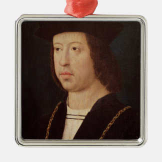 Portrait of Ferdinand II  King of Spain Christmas Ornament