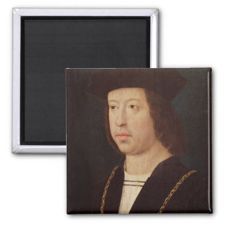 Portrait of Ferdinand II  King of Spain Magnet