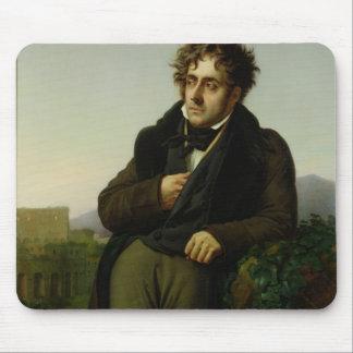 Portrait of Francois Rene  Vicomte Mouse Pad
