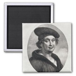 Portrait of Francois Villon Magnet