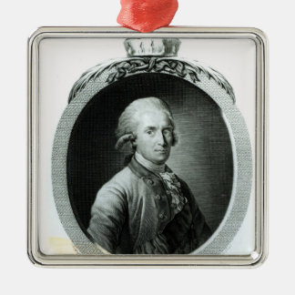 Portrait of Frederick Augustus I Christmas Ornament