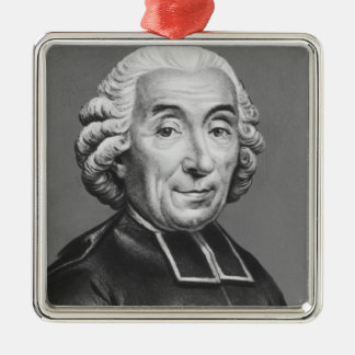 Portrait of Gabriel Bonnot de Mably Christmas Ornament