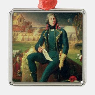 Portrait of General Louis-Lazare Hoche Christmas Ornament